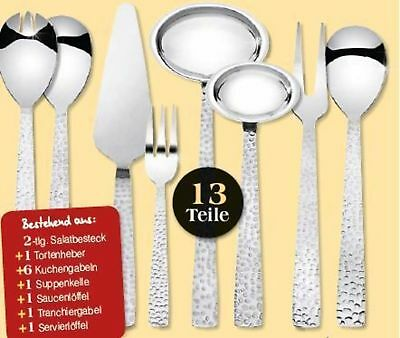 9x Household Help Set 13 PC Kitchen Aids Kitchen Fork Salad Cake Lifter