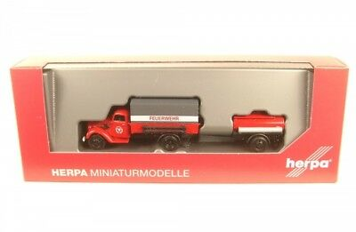 Ford V 3000 Plan Truck with Tank Trailers Fire Brigade(Fire Birgade)