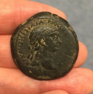Roman. Trajan (98-117 A.d). Large Bronze Coin Of Syria (Ae 31Mm).