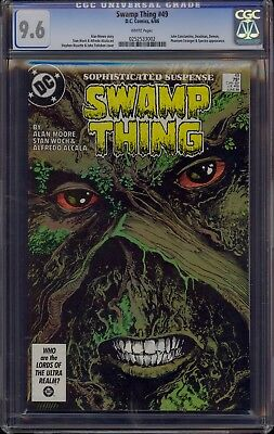 SWAMP THING #49 CGC 9.6 WHITE PAGES  1st APP JUSTICE LEAGUE DARK   COMIC KINGS