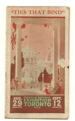 1925 Canadian National Exhibition Promotional Guidebook, Toronto