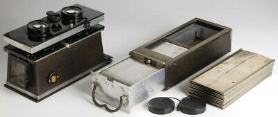 Ica Polyscop 6x13_antique stereo & panoramic camera_Zeiss Tessar brass lenses_3D