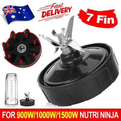 7Fin Extractor Blade Replacement Suits Nutri Ninja 900W/1000W/1500W OZ SELLER