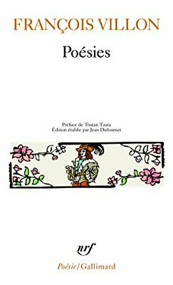 Poesies (Collection Pobesie) by Villon Book Book The Fast Free Shipping