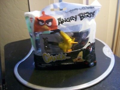 """Angry Birds Yellow Bird Chuck 2"""" PVC Figure Cake Topper New Spin Master"""