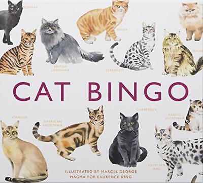 Cat Bingo (Magma for Laurence King) by Marcel George | Game Book | 9781780679037