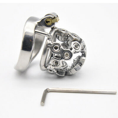 Male Chastity Device Stainless steel small Chastity Cage AB031