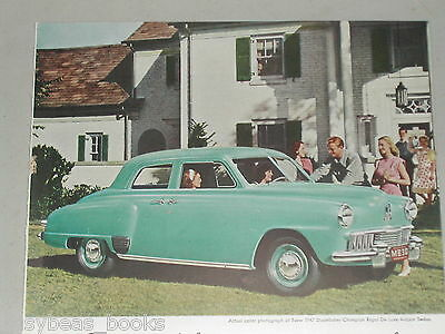1947 STUDEBAKER CHAMPION advertisement, Studebaker Champion sedan