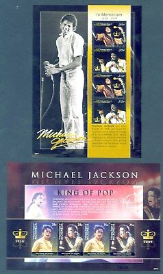 Mikronesien Micronesia 2009 - Michael Jackson - King of Pop - Music  In Memoriam