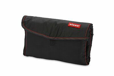 Diono 40322 Change 'n Go Cushioned Changing Pad with Storage Pockets Color Black