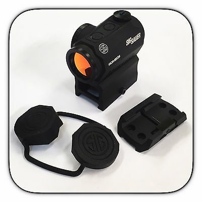 Sig Sauer Romeo 5 1x20mm 2 MOA Red Dot Sight w/ Mounts - SOR52001