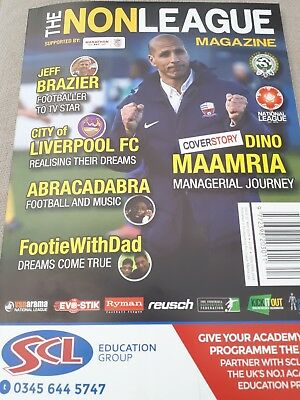 The Non League Magazine Issue 22 May 2018 Club Reviews Interviews News Reports