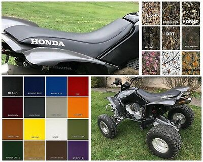 HONDA TRX400ex 1999-2007 SEAT COVER in Black or 25 Colors   (HONDA SIDES)