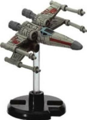 Star Wars miniatures 1x x1 X-wing Starfighter Starship Battles NM with Card