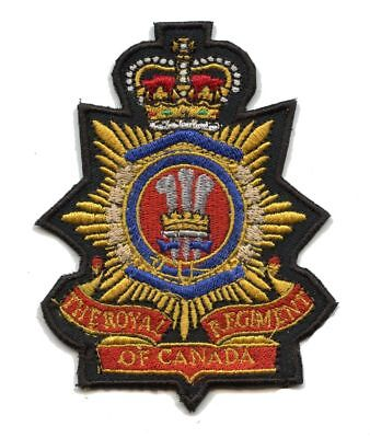 Royal Regiment of Canada  Badge Patch