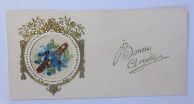 New Year, Embroider, Card 1927 (61146)