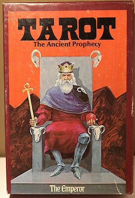 Tarot The Ancient Prophecy Vintage 1973 78 Cards + Large Instruction Book