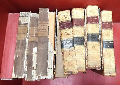 EMPEROR NAPOLEON PRIVATE MEMOIRS c1830 Vol I-IV & JOURNAL Vol I-IV c1823 - C61