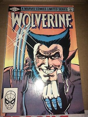 Marvel Comics Limited Series Wolverine Issue 1 very fine condition.