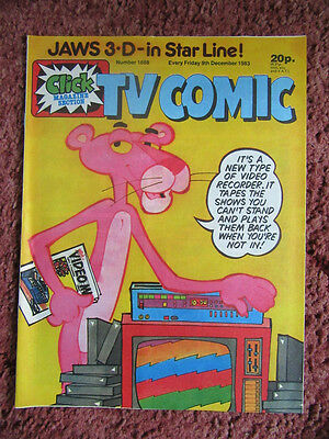 Tv Comic 9 December 1983 Nr Mint Unsold/unread Newsagents Stock