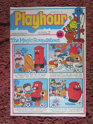 Playhour Comic 10  December 1983. Nr Mint/mint. Unread Unsold Newsagents Stock.
