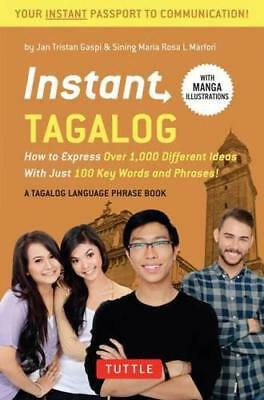 Instant Tagalog: How to Express Over 1,000 Different Ideas with Just 100 Key Wor