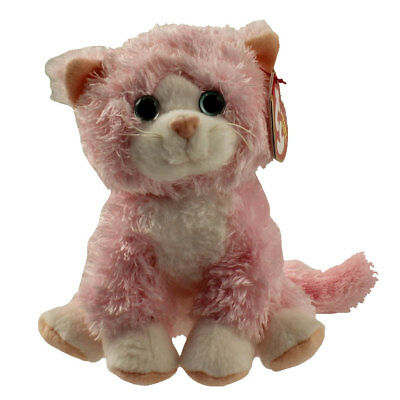 TY Beanie Baby - CURTSY the Pink Cat (5.5 inch) - MWMTs Stuffed Animal Toy
