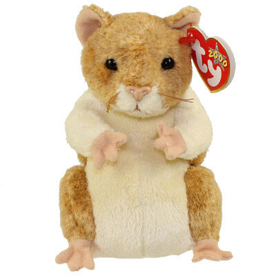 TY Beanie Baby - PELLET the Hamster (5.5 inch) - MWMTs Stuffed Animal Toy