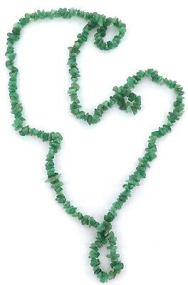 .very Long 88Cms / 59 Grams Jadeite Nephrite Necklace.