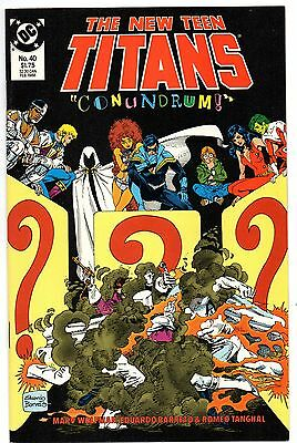 The New Teen Titans #40 (Feb 1988, DC) Fine/VF