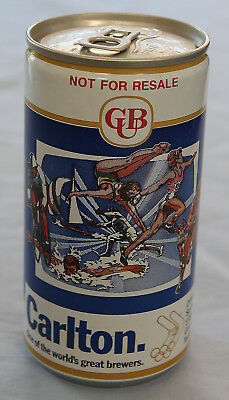 Vintage Can of Carlton CUB Fosters Collectable 1984 Official Olympic Can