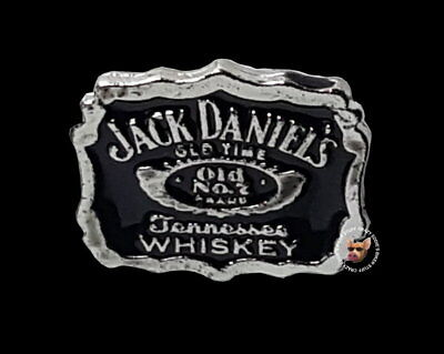 Jack Daniels Old No.7 Whiskey Hat  Vest Pin* Free Usa Ship * Made In Usa *