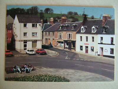 Postcard. MARKET SQUARE, DUNS. Unused.
