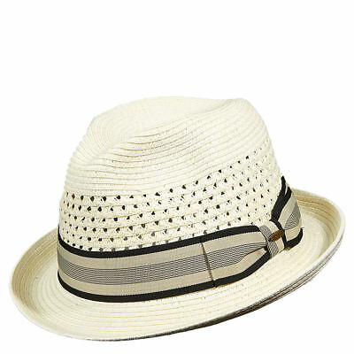fcfc7ab2991 SCALA MEN'S PAPER Braid Toyo Fedora Hat - $25.95 | PicClick