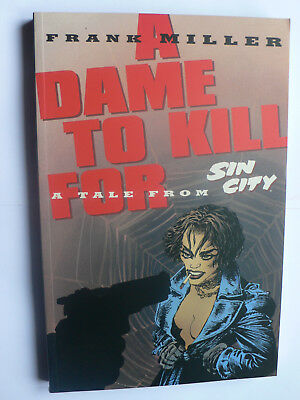 Sin City.A Dame to Kill For.Frank Miller.Graphic Novel.GN.Dark Horse.TPB.