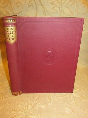 Antique Book Of His Majesty The King  - 1910 - 1935