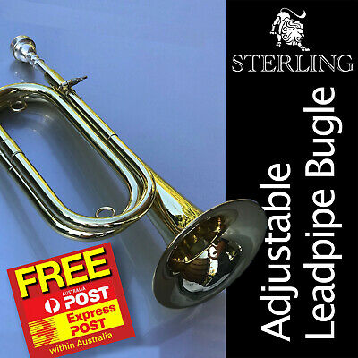 STERLING SWBG-135 Bugle • With Carry Case • Brand New •