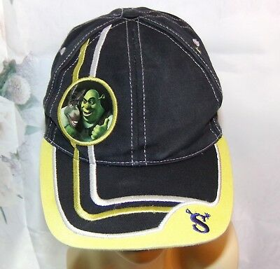 Shrek 2 Hat Embroidered with cool insert of Shrek and Donkey Youth Baseball Cap