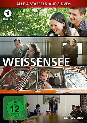 Weissensee - Season/Staffel 1+2+3+4 # 8-DVD-BOX-NEU