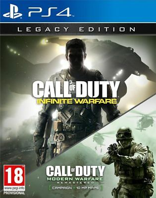 Call of Duty: Infinite Warfare - Legacy Edition (PS4) NEW AND SEALED - IMPORT