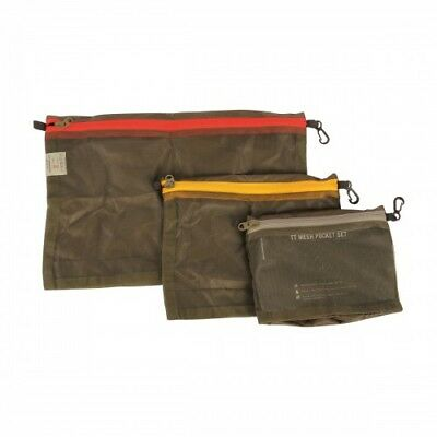 TT Tasmanian Tiger - Mesh Pocket Set - Packsack Set -  3 Größen