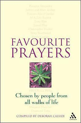 Favourite Prayers by Deborah Cassidi | Paperback Book | 9780826451910 | NEW