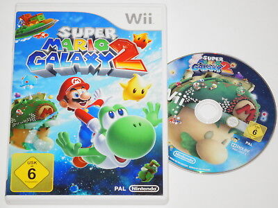 Nintendo Wii Spiel * SUPER MARIO GALAXY 2 * ~NM7270