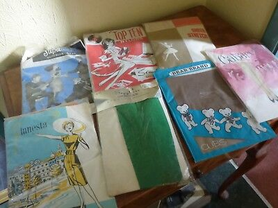 Job Lot Of 7 Pair Of Vintage Stockings 1950's / 60's