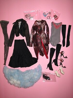 "Tonner - LOT of 16"" Fashion Doll Clothes - Tyler, Antoinette, Ellowyne, Etc."
