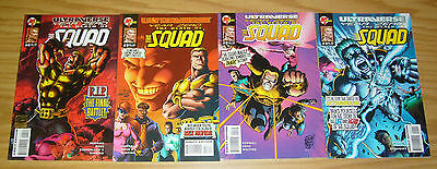 Ultraverse Year Zero: Death of the Squad #1-4 VF/NM complete series hardcase set