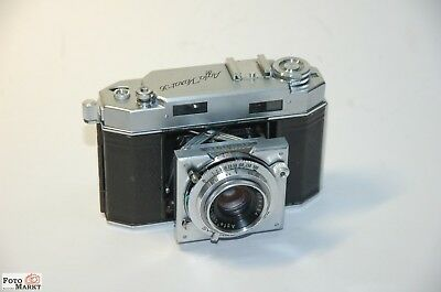 AGFA CARAT 36 Folding Camera 24x36mm Film + Solinar 2,8/50mm Camera