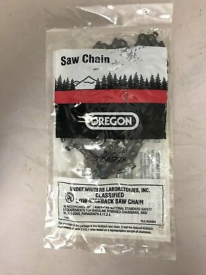 "20"" Oregon Chainsaw Saw Chain 3/8 .050 gauge 72DL 72V072G FULL CHISEL LOW-KICK"