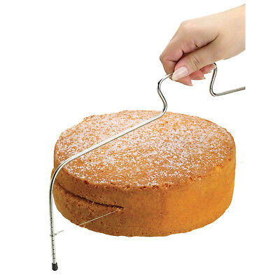 Kitchen Craft Grande Tarta Esponja Ajustable Capa Slicer, Corte Nivelación Cable