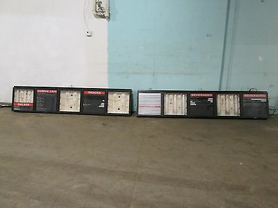 LOT OF (2) COMMERCIAL LIGHTED WALL/CEILING MOUNT MENU BOARDS w/ACRYLIC COVERS